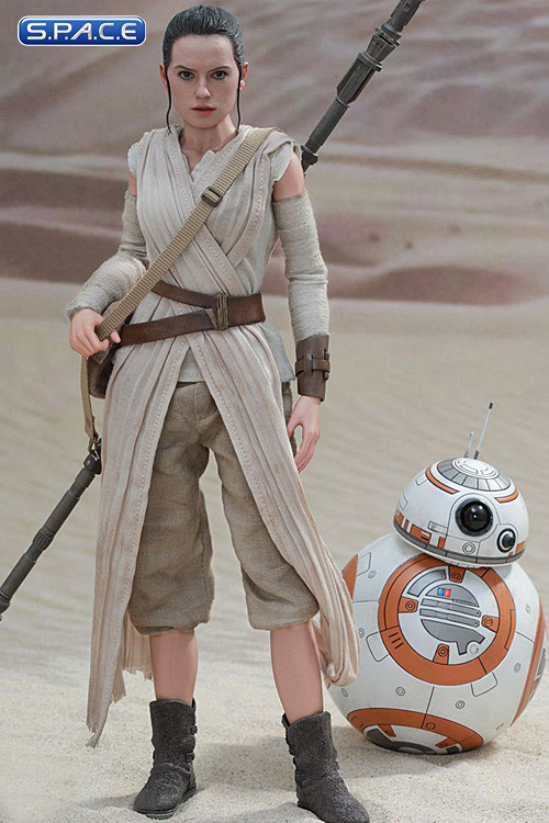 16 Scale Rey And Bb 8 Movie Masterpiece Set Mms337 Star Wars