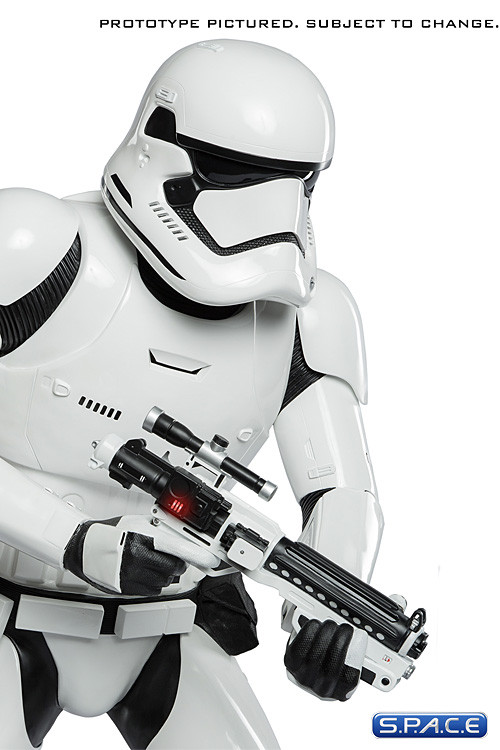 11 First Order Stormtrooper Life Size Statue Star Wars The Force