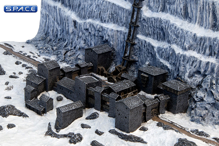 Castle Black Amp The Wall Diorama Game Of Thrones S P A