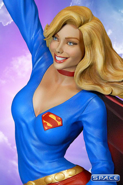 supergirl maquette dc comics s p a c e space. Black Bedroom Furniture Sets. Home Design Ideas