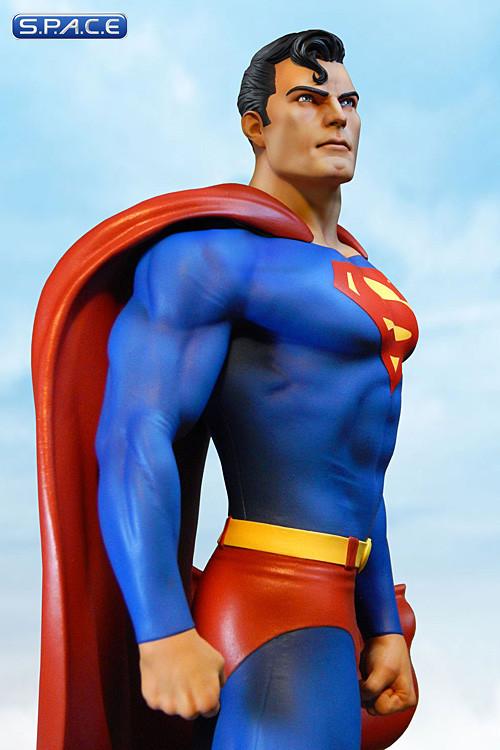 superman super powers collection maquette dc comics s p a c e space. Black Bedroom Furniture Sets. Home Design Ideas