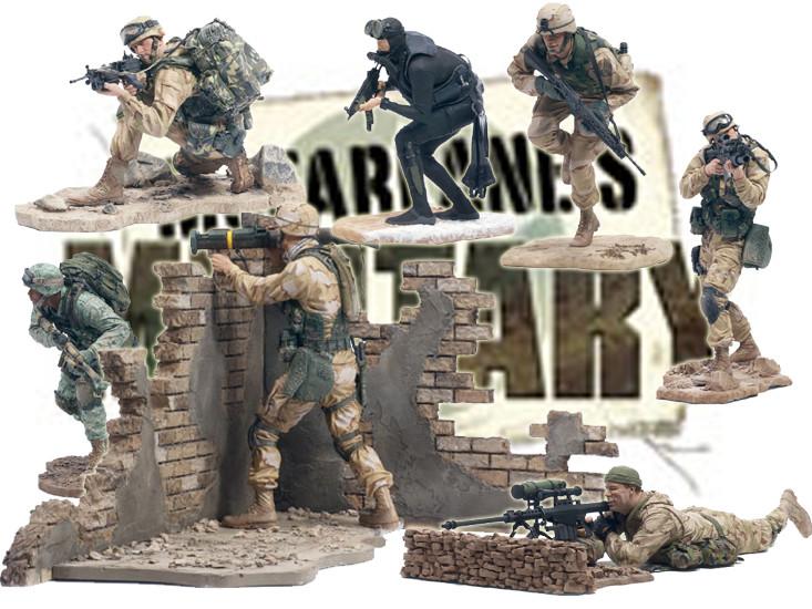 7er big bundle mcfarlane s military series 1