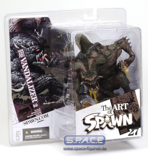 Vandalizer 2 New Art Spawn 27 The Art Of Spawn Space