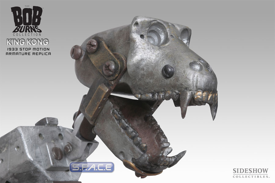King Kong 1933 Stop Motion Armature Replica - S P A C E - space