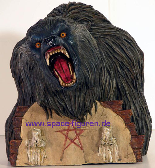 werewolf bust an american werewolf in london s p a c e. Black Bedroom Furniture Sets. Home Design Ideas