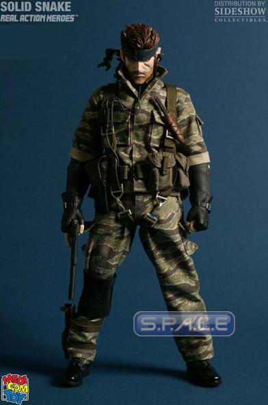 1/6 RAH Solid Snake Tiger Stripe Camouflage Version (Metal