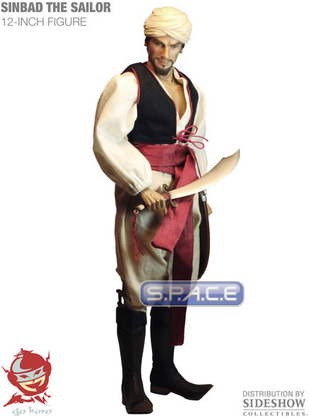 1/6 Scale Sinbad the Sailor (Ray Harryhausen)  sc 1 st  S.P.A.C.E. Figuren & 1/6 Scale Sinbad the Sailor (Ray Harryhausen) - S.P.A.C.E - space ...