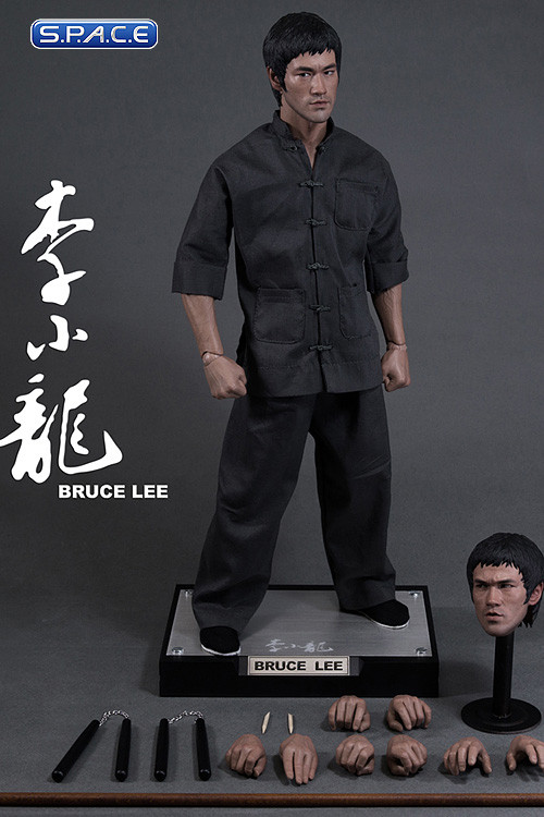 1 4 scale bruce lee hd masterpiece hd 1008 bruce lee s. Black Bedroom Furniture Sets. Home Design Ideas
