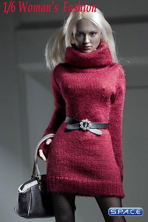 Vogue 1/6 Scale Female Green Neckstrap Fashion Dress
