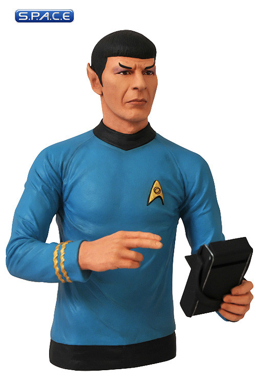 spock bust bank star trek s p a c e space. Black Bedroom Furniture Sets. Home Design Ideas