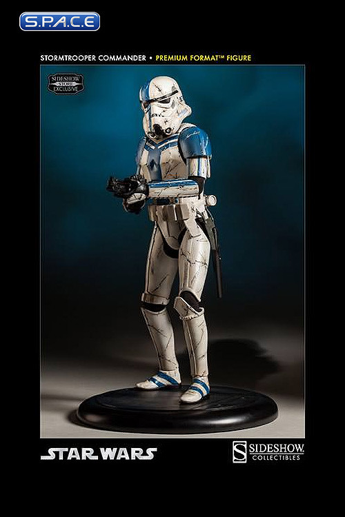 Stormtrooper Commander Premium Format Figure Star Wars Space