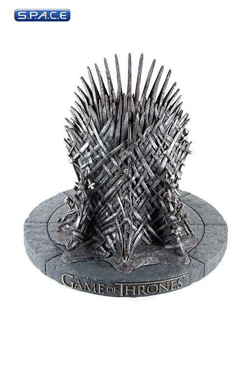 iron throne statue game of thrones k nigsmund eiserner