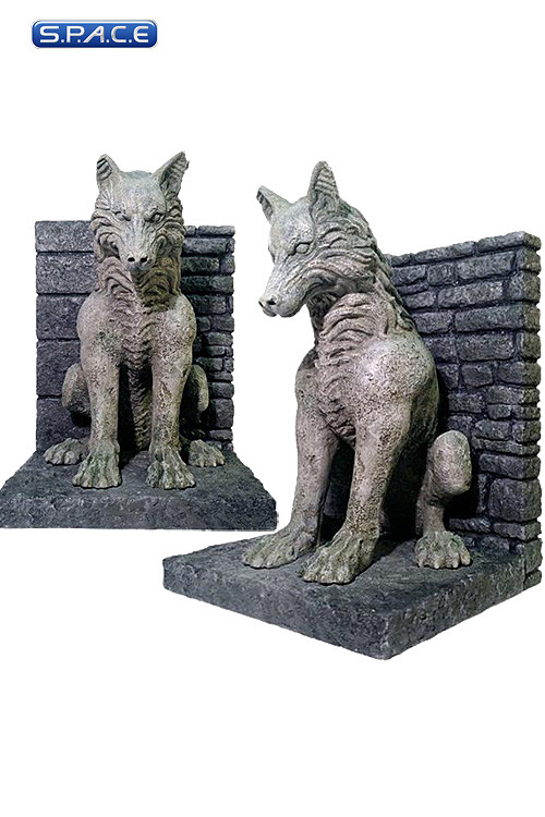 Dire wolf bookends game of thrones s p a c e space - Dire wolf bookends ...