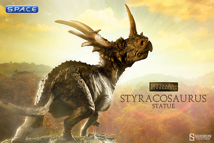 styracosaurus statue dinosauria s p a c e space. Black Bedroom Furniture Sets. Home Design Ideas
