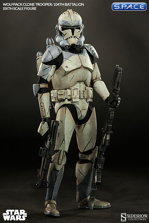 16 Scale Wolfpack Clone Trooper 104th Battalion Star Wars