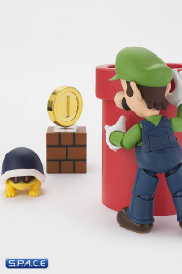 Luigi with Play Set C Bundle - S.H. Figurarts (Super Mario)