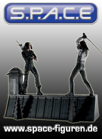 Rooftop Battle Deluxe Box 2-Pack (The Crow)