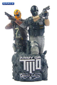 Alpha and Bravo Mini-Bust (Army of Two -  The Devil's Cartel)