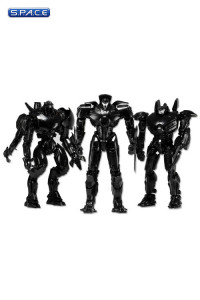 End Titles Jaeger 3-Pack SDCC 2014 Exclusive (Pacific Rim)