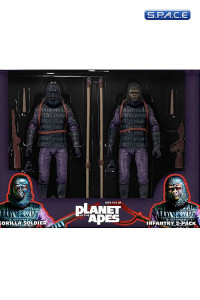 Classic Gorilla Infantry Soldier 2-Pack (Planet of the Apes)