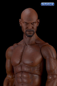 1/6 Scale Black Muscular Body Bruce (with head sculpt)