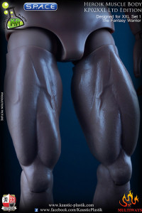 1/6 Scale Heroik Muscle Body - Limited Edition (with head - tanned color)