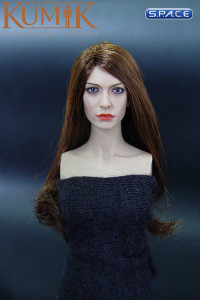 1/6 Scale Anne Head (brunette hair)