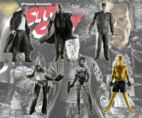 Complete Set of 6: Sin City Series 1 (black/white)