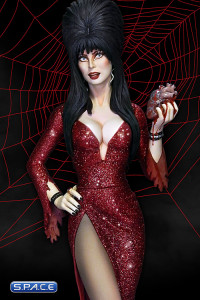Elvira »Your Heart belongs to me« Maquette (Elvira - Mistress of the Dark)