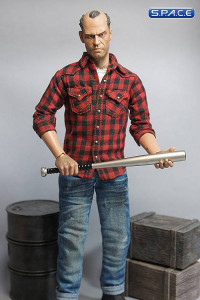 1/6 Scale Head Sculpt with metal baseball bat