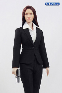 1/6 Scale MI6 Female Agent - black dress (Suit of Style Series)