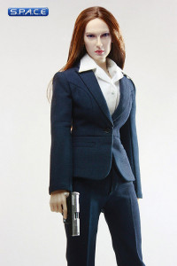 1/6 Scale MI6 Female Agent - blue dress (Suit of Style Series)