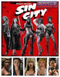 The Girls of Sin City b/w 5-Pack (Sin City)