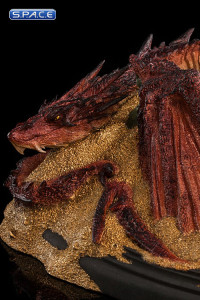 Smaug - King under the Mountain Mini-Statue (The Hobbit: The Desolation  of Smaug)