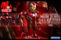 Iron Man Mark XLIII (battle-damaged Version) and Hulkbuster Deluxe Set - Artist Mix Figures Series 1 (Avengers: Age of Ultron)