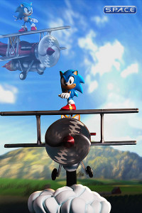 Sonic »The Tornado« Diorama (Sonic the Hedgehog)