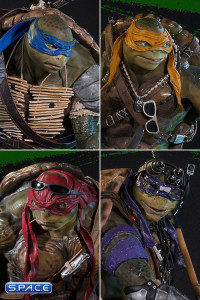 4er Statuen Bundle (Teenage Mutant Ninja Turtles)