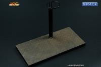 1/6 Scale Figure Stand C-Shape (rusty)