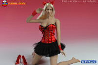 1/6 Scale Basque Corset Dress (Red)