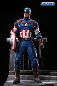 1/9 Scale Captain America Action Hero Vignette (Avengers: Age of Ultron)