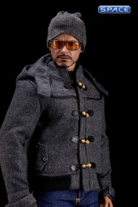 1/6 Scale grey short Duffle Coat Set