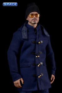 1/6 Scale navy medium Duffle Coat Set