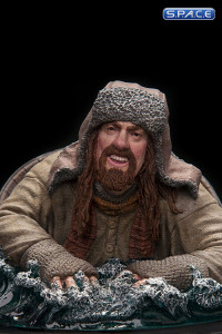 Bofur the Dwarf Barrel Rider Mini-Statue (The Hobbit: The Desolation of Smaug)