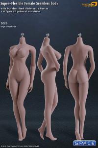 1/6 Scale Seamless Female suntan Body large breast / headless (Super-Flexible)