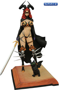 Tarot Femme Fatales PVC Statue Version 2 (Witch of the Black Rose)
