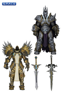 Set of 2: Arthas & Tyrael (Heroes of the Storm Serie 2)