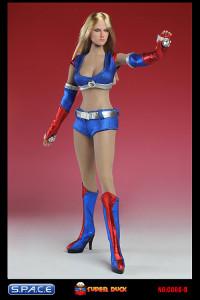 1/6 Scale blue Cheerleading Clothing Set