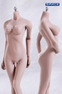 1/6 Scale Seamless Female pale Body middle breast / headless (Super-Flexible)