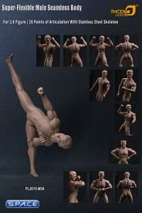 1/6 Scale Seamless Male Body M30 (Super-Flexible)