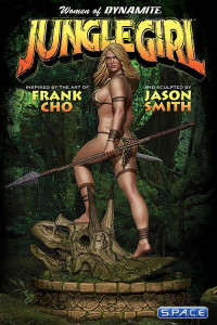 Jungle Girl Statue (Women of Dynamite)